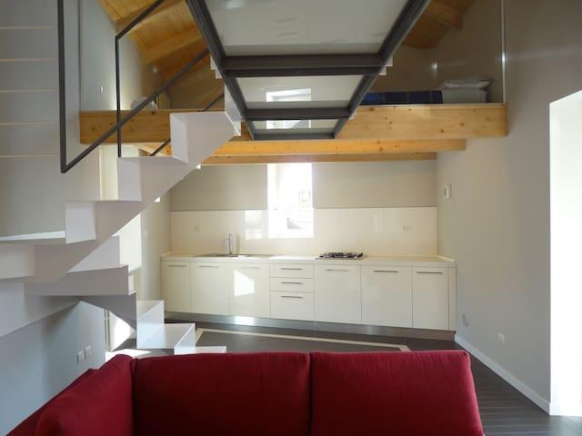casa baroggi - livello 3 - Maccagno - Квартира