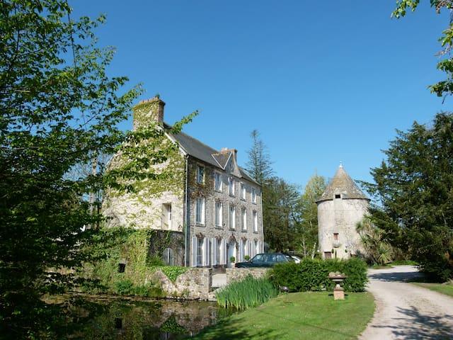 Manoir House at Sebeville Farm - Négreville - Casa