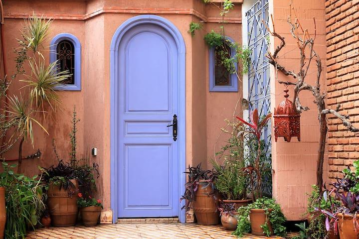 Charming bedroom in Guéliz - Marrakesh