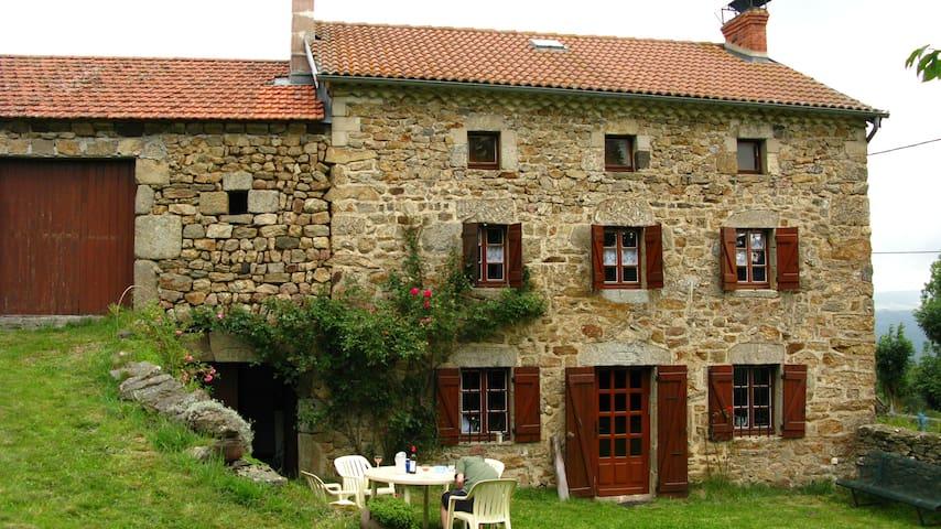 Maison Haute Loire plein sud - Alleyras