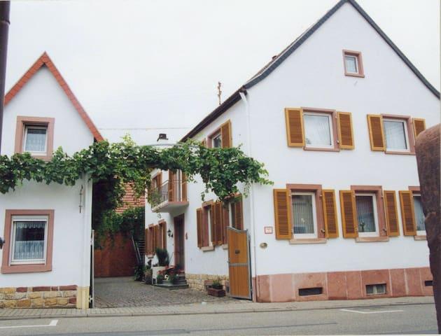 Auf dem Winzerhof nahe Landau Pfalz - Essingen - Apartmen