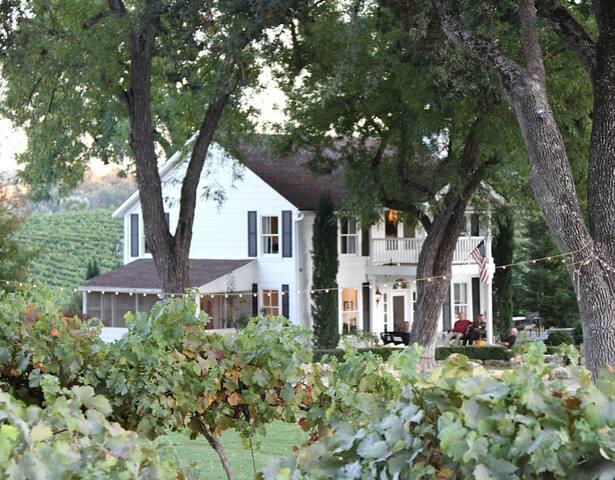 Farmhouse on 50 acres Paso Robles  - Paso Robles - Huis