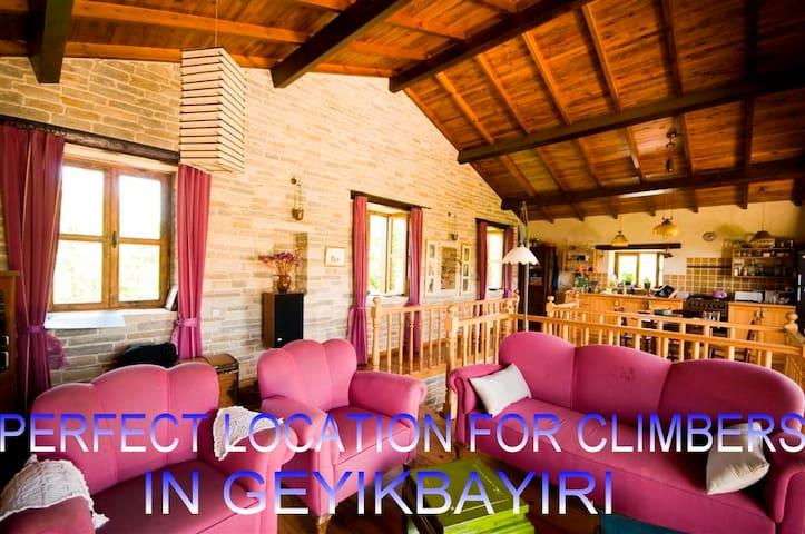 COUNTRY STONE HOUSE 5 km to ANTALYA - Bahtılı - Rumah