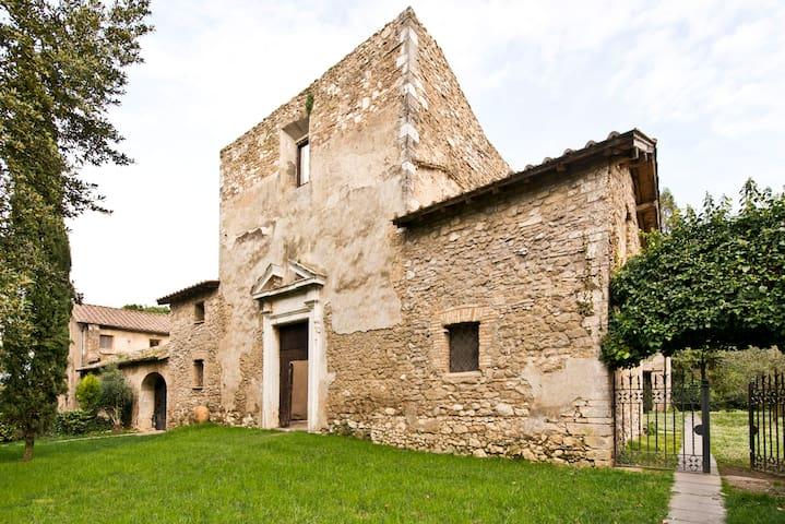 Historic house Conventino ground f. - Mentana - Lägenhet