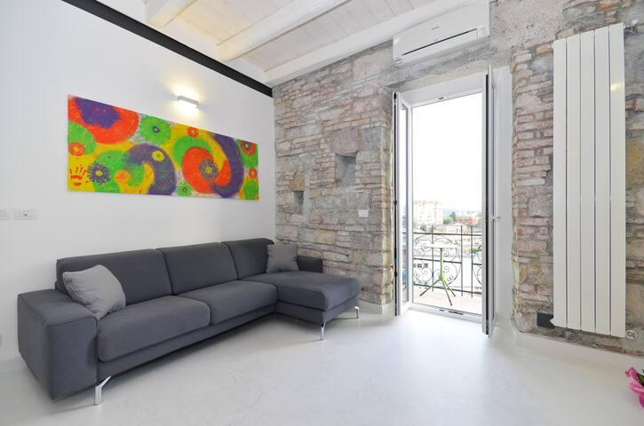 Trieste - Vegape The white apartmen - Trieste - Lägenhet