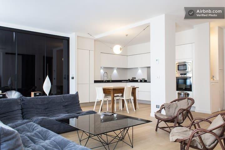 Design bedroom 2 center of the town - Grenoble - Bed & Breakfast