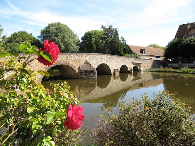 Hosts' suite near by the river... - Beaumont-sur-Sarthe - Bed & Breakfast
