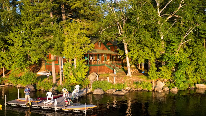 Coccia Pines - Adirondack getaway - Tupper Lake - Cabane