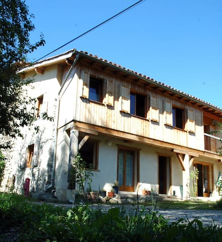GITE ARIEGE SUPER CALME – 6 pers - Montseron - Rumah