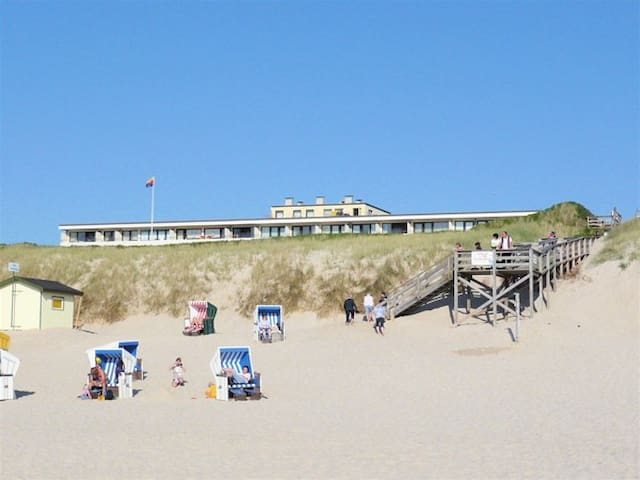 2-room apartment with sea-view - Wenningstedt-Braderup - Departamento