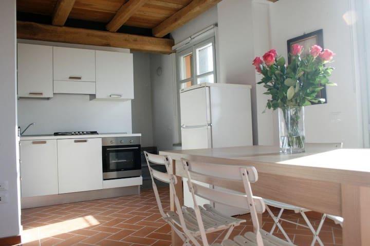 app.t in renovated farmhouse 16 - Moncalvo - Daire