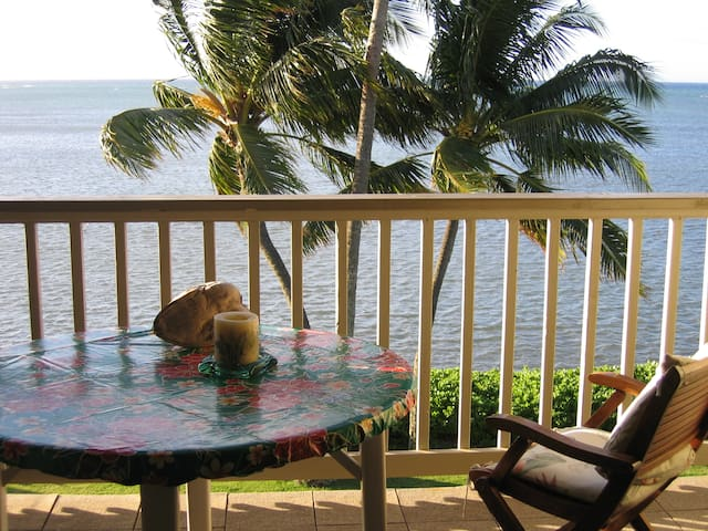 OceanFront Condo w/panoramic view on MOLOKAI !! - Kaunakakai - Apartment