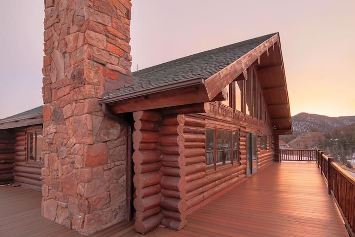 Beautiful Log Home-Spectacular View - Estes Park - Casa