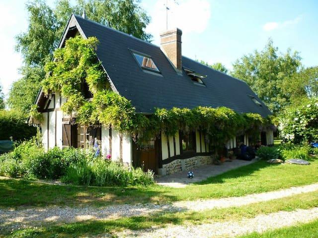 Normandie family & friends house - Le Fidelaire - Hus