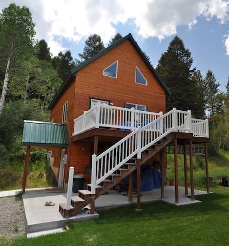 Mountainside Cabin w/ WiFi - Star Valley - Hytte