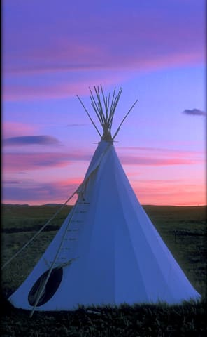 Blackfeet Tipi Village 4 - Browning - Tipi