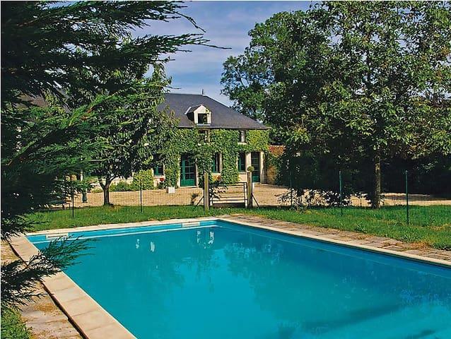 Maison de caractère, piscine privée 8 personnes - Vouvant - Σπίτι