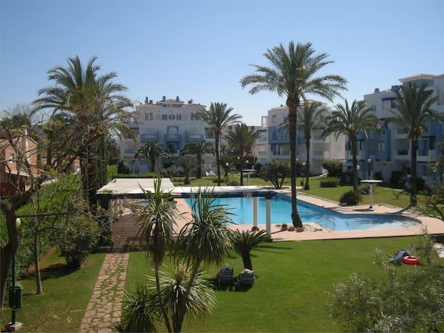 Apartamento, primera linea de playa + wifi - Дения - Квартира