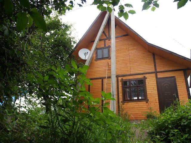 Канадский домик в Карпатах - Pistyn' - Huis