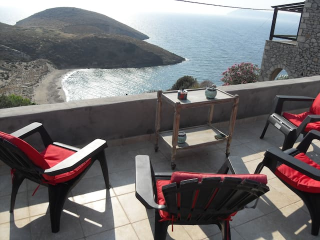appartment in house on the beach - Marmari - Hus