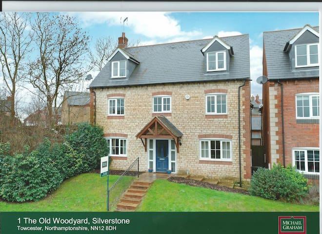 cosy family home - Silverstone - Casa