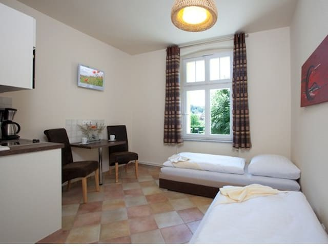 Beautiful room  (70 km to Berlin) - Chorin - Appartement
