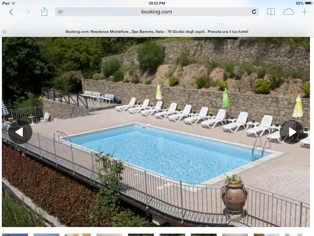 Tuscan apartment near Vinci - San Baronto - Leilighet