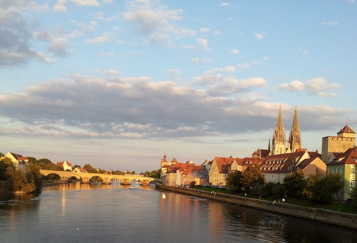 Helle und freundliche 2-Zimmer-Wohnung - Regensburg - Daire