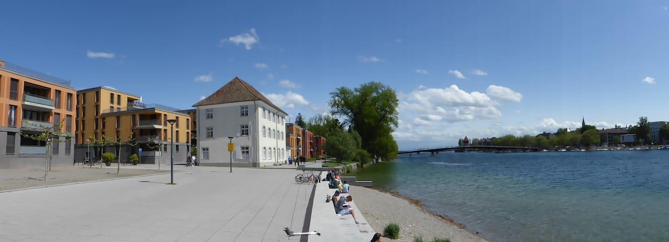Modern apartment across Seerhein - Konstanz - Apartemen