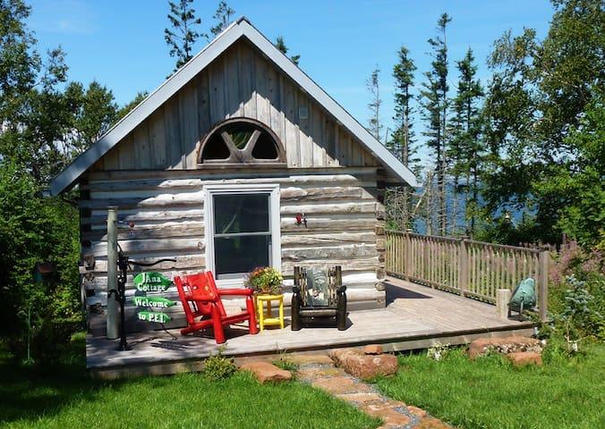JAnaB  Log Cabin - Belfast