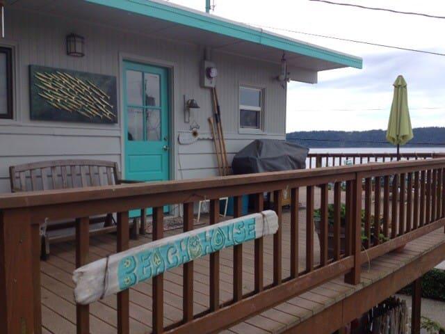 tulalip shores vintage beach cabin - Marysville - Casa