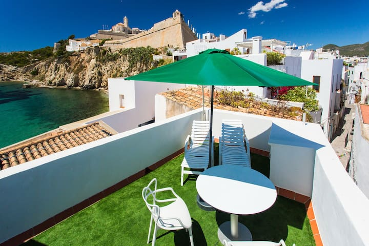 Virgen House with Terrace - Ibiza - Hus