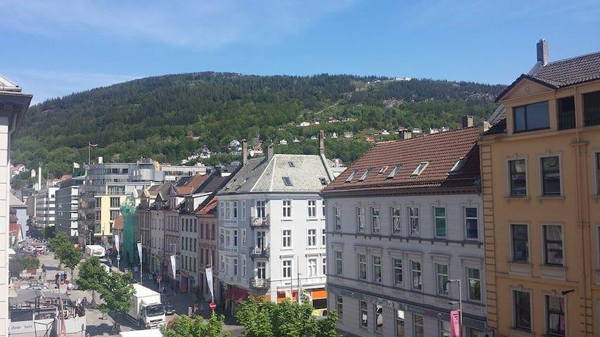 city view in the heart of Bergen - Bergen - Apartmen