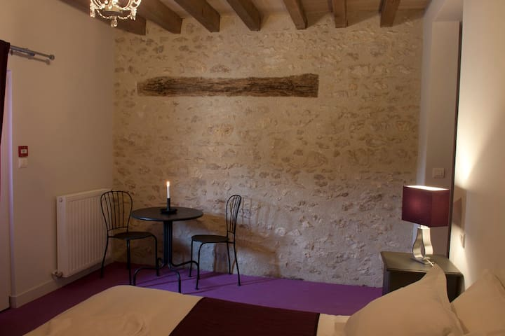 Family room in an Ecolodge - Batilly-en-Puisaye - Bed & Breakfast