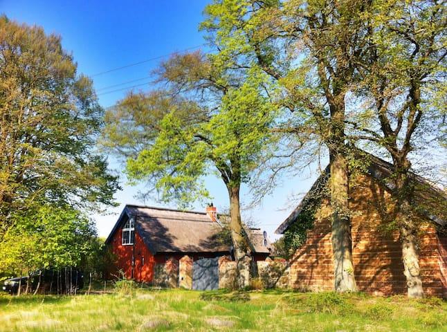 Secluded, old farm - Jatznick - Casa