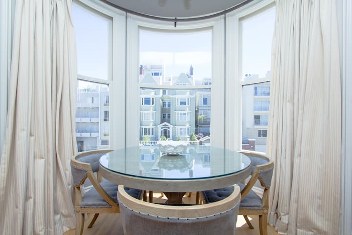 Edwardian Style Pacific Heights 1BD - San Francisco - Apartament