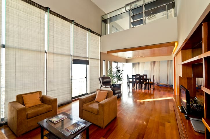 Penthouse Miraflores Amazing view  - Miraflores District - Leilighet