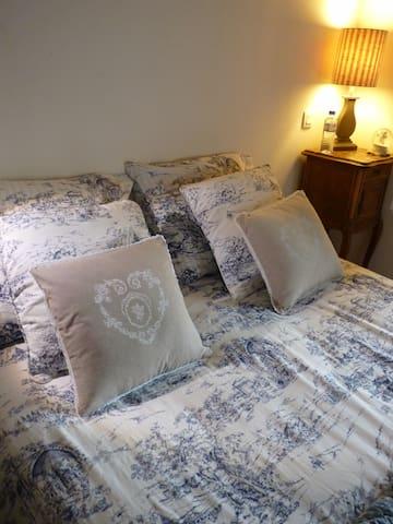 chambre privée avec SDB privative  - Trois-Monts - Casa