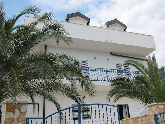 Apartmani 2 Palme - Iva - sea view - Slatine - Departamento