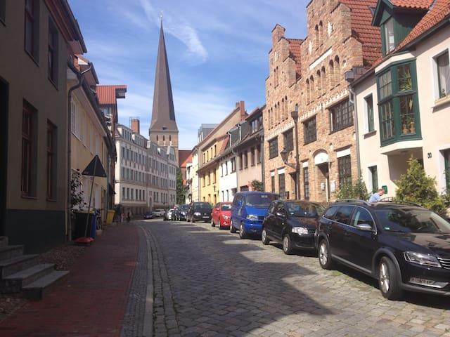Gemütliche Altstadtwohnung - Rostock - 公寓