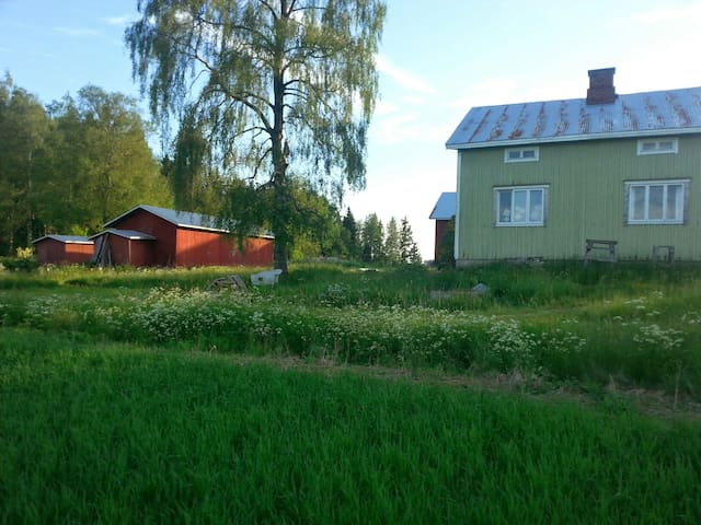 Upstairs of a house in the fields - Salo - Ev