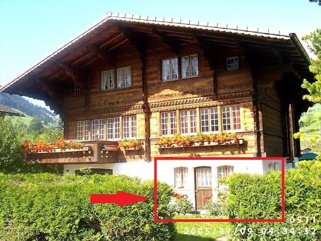 Mountain Chalet in Bernese Oberland- Frutigen - Frutigen - Hytte (i sveitsisk stil)