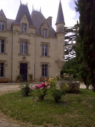 Chateau de Baugé B&B Jade Room - Les Verchers Sur Layon
