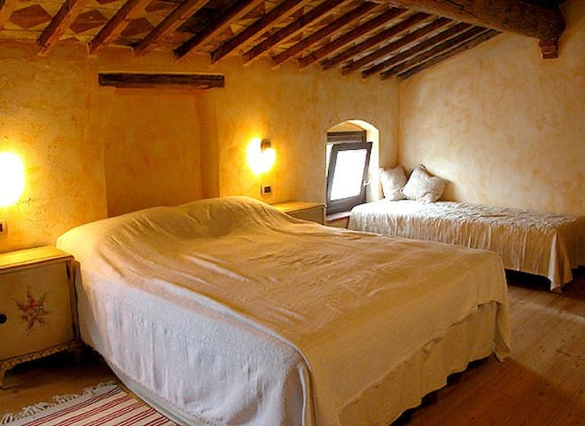 17th cent. Italian country house  - Soave - Oda + Kahvaltı