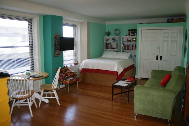 Cozy Apt Luxury bldg - DIA! Midtown - Détroit