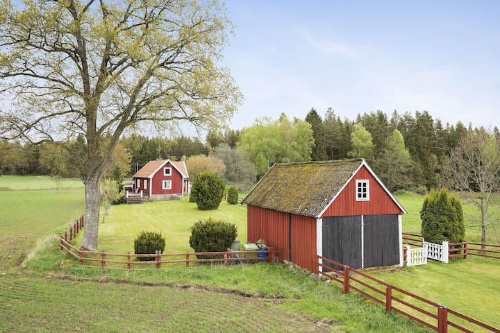 Idyllic house in the countryside - Kalmar - Huis