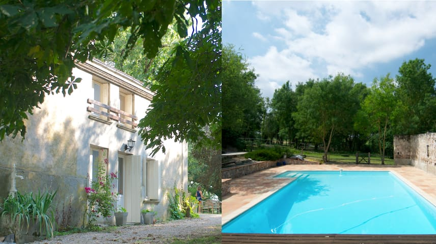 CHARMING FLAT W\ POOL FOR 5 - Blan - Daire
