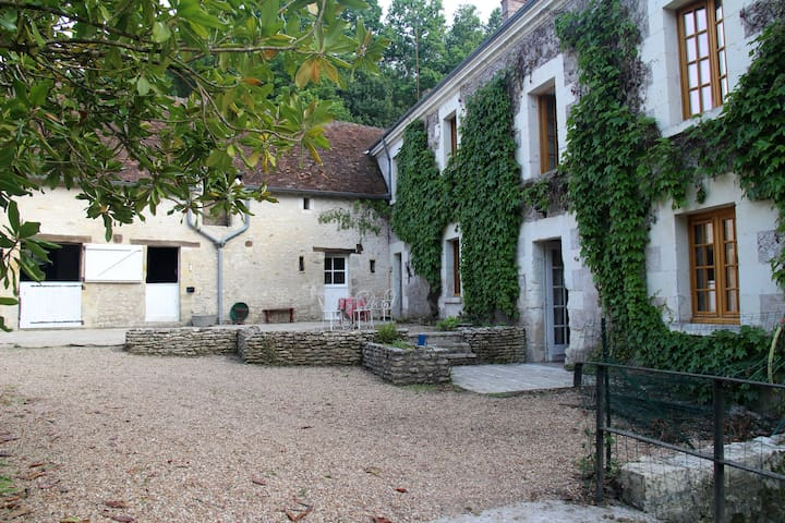 Peaceful Mill in the Loire Valley near MONTRESOR. - Beaumont-Village - Altres
