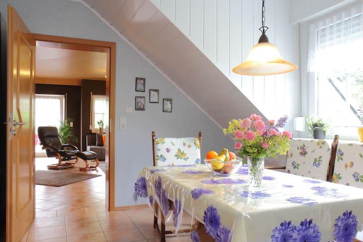Komfortabele  Ferienwohnung 100 qm - Arft - Квартира