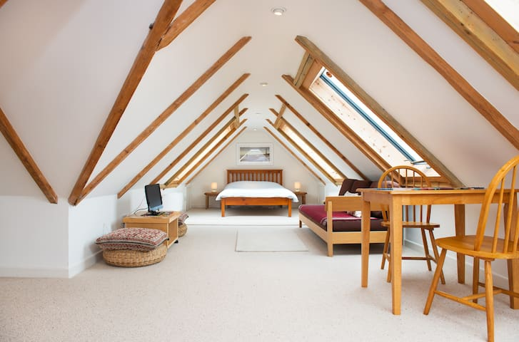 Loft living on Cornwall's Riviera  - Polruan nr Fowey - Appartement